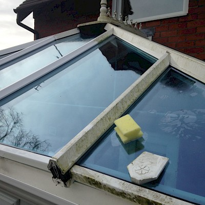 conservatory roof cleaning in woking surrey
