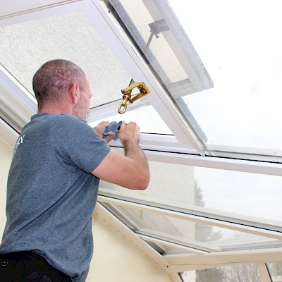 conservatory window cleaning in woking surrey