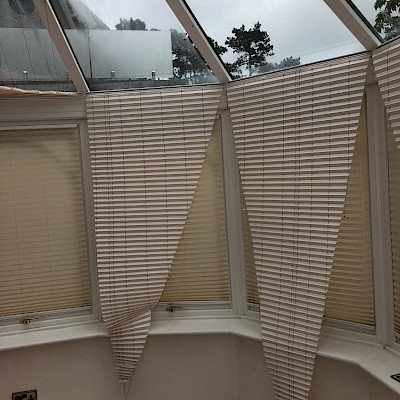 Conservatory Blinds Cleaned to a high standard