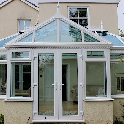 stunning conservatory clean in Sidlesham on the South Coast