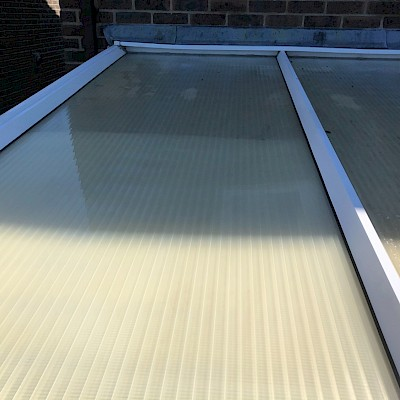 conservatory roof cleaned in Richmond and looking new